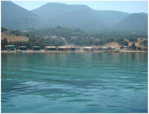 dipla vela παραλίες στο Νομό Αιτωλοακαρνανίας