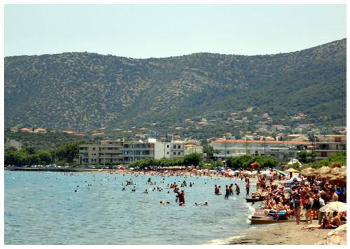 porto rafti agia marina παραλίες αττικής