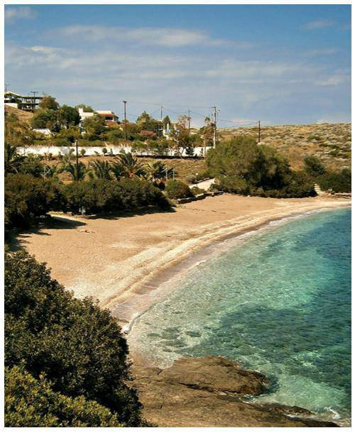tsonima παραλίες αττικής