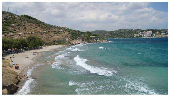 xamolia παραλίες αττικής